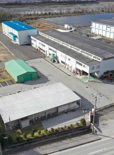 東邦窯業株式会社の工場外観(空撮)